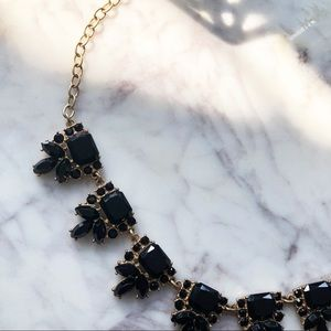 J. Crew • Gold Accented Necklace